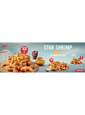 Star Shrimp Meal