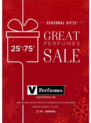 Great Perfumes Sale - 25% To 75% Off