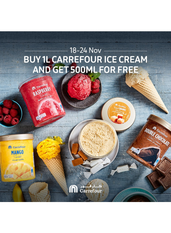 Wow Offer on Carrefour Ice Cream