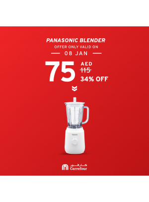 34% Off on Panasonic Blender