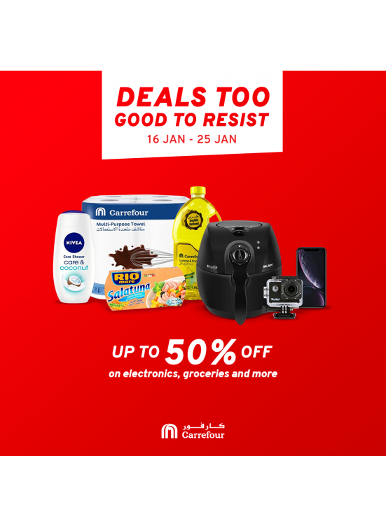 Up To 50% OFF on Electronics, Groceries & More