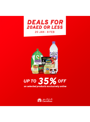 Deals for 20 AED or Less