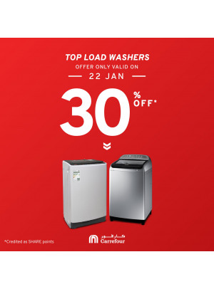 30% Off on Washers