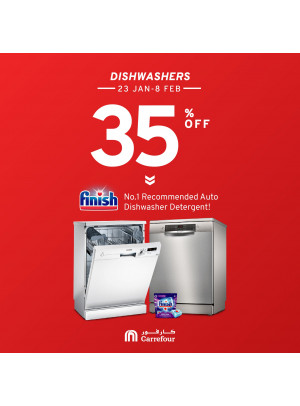35% Off on Dishwashers
