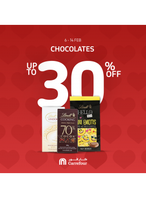 Up To 30% Off on Chocolates