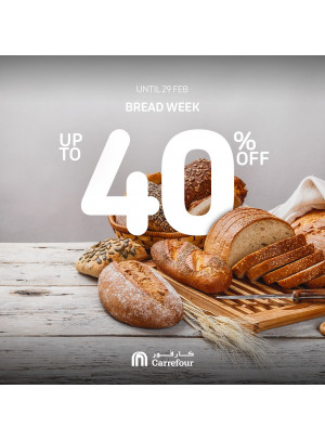 Up To 40% Off on Bread