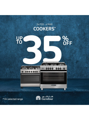 Up To 35% Off on Cookers