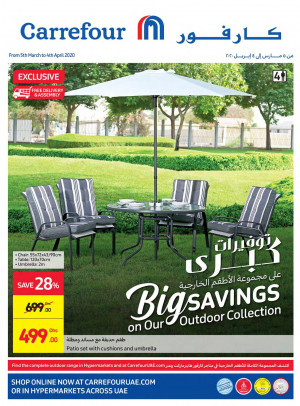 Big Savings on Outdoor Collection