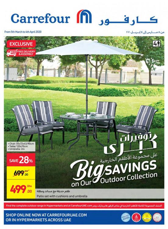 Big Savings on Outdoor Collection