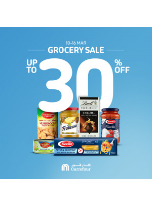 Grocery Sale - Up To 30% Off