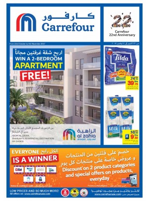 Carrefour 22nd Anniversary Offers