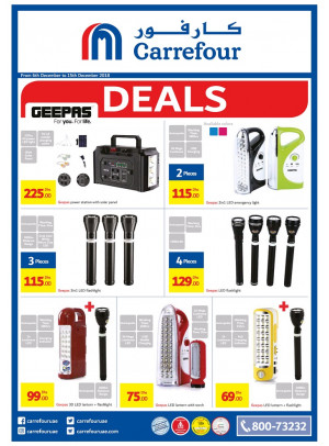 Geepas Deals at Carrefour