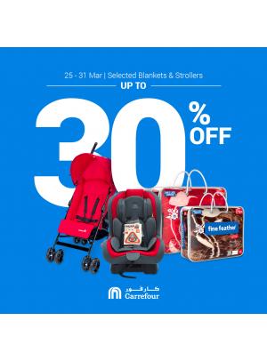 Mega Sale on Blankets & Strollers