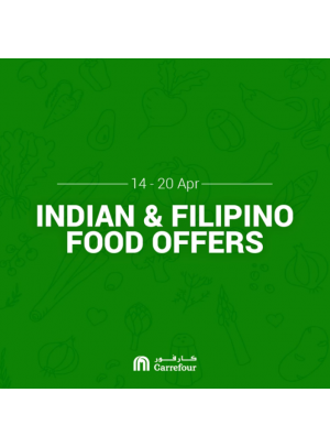 Indian & Filipino Food Offers