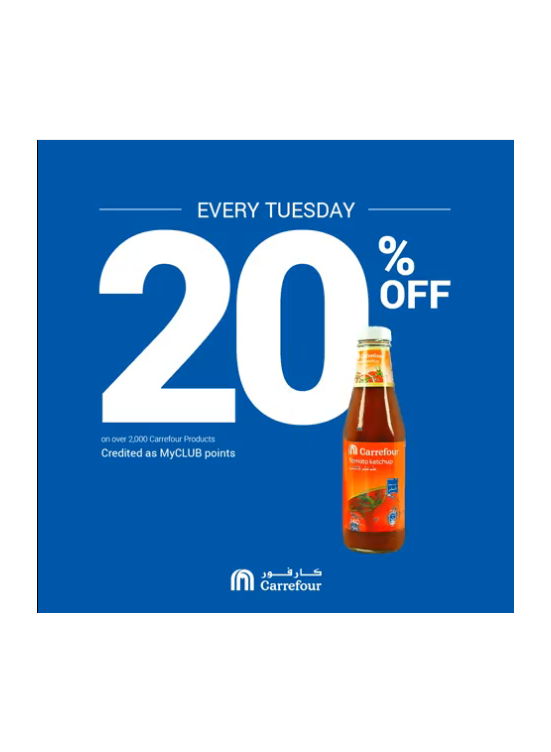 Every Tuesday Offers
