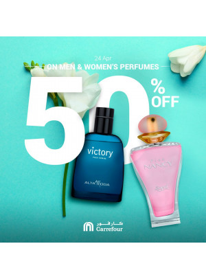 50% Off on Perfumes