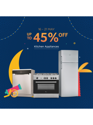 Mega Sale Up To 45% On Kitchen Appliances