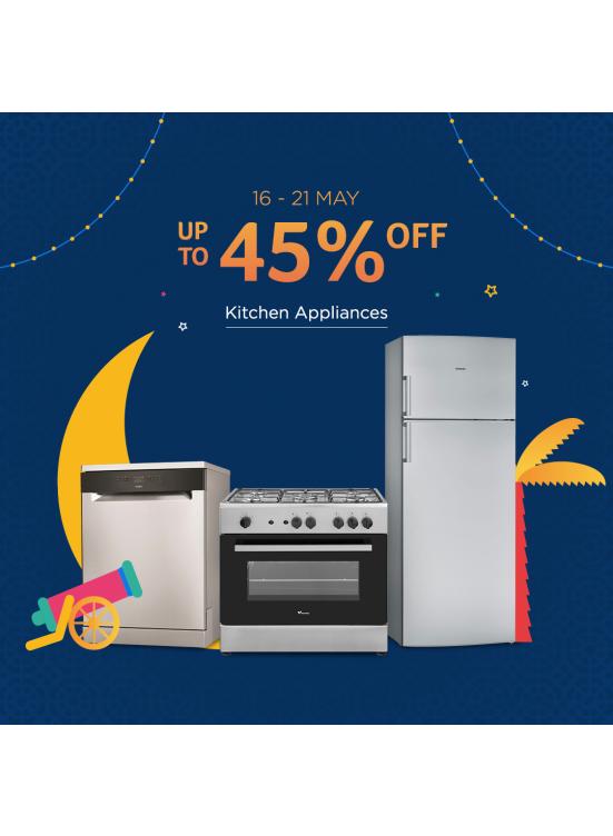 Mega Sale Up To 45% On Kitchen Appliances