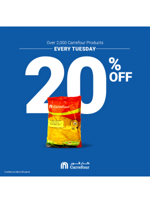 Every Tuesday Offers - 20% Off