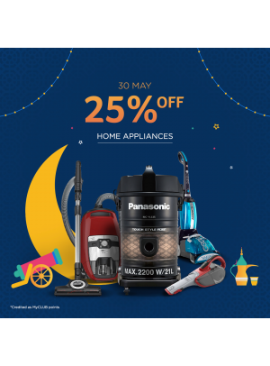 25% Off on Home Appliances