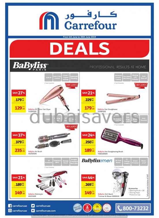 Amazing Sale on BaByliss Products