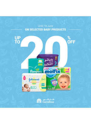 Up To 20% Off on Baby Products