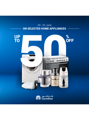 Up To 50% Off on Home Appliances