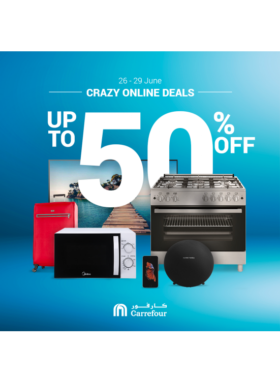 Crazy Online Deals From Carrefour Until 29th June Carrefour Offers