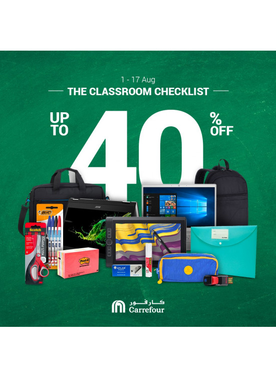 Up To 40% on Classroom Checklist