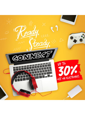 Up to 30% on Electronics