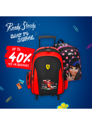 Up To 40% OFF on Backpacks