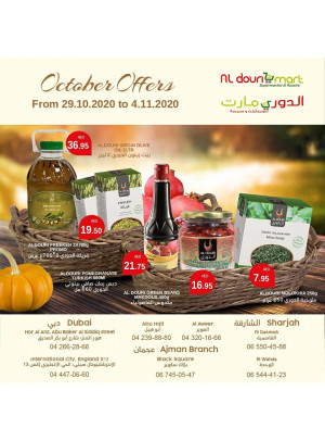 October Offers - Al Douri Mart
