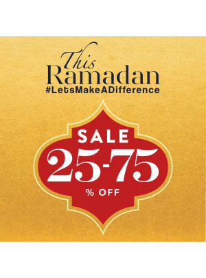Ramadan Sale 25% To 75% Off