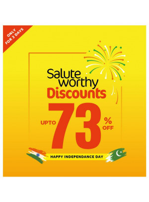 Salute Worthy Discounts - Up To 73%