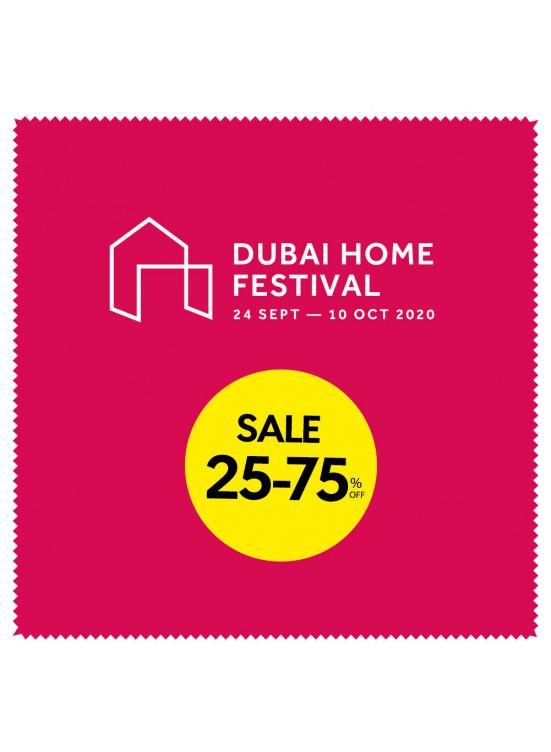 Dubai Home Festival - Sale 25 - 75%