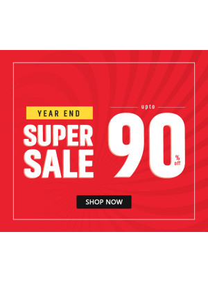 Year End Super Sale - Up To 90% Off