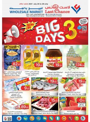 Big 3 Days Deals