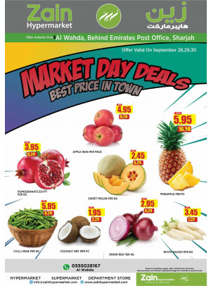 Market Day Deals - Al Wahda, Sharjah
