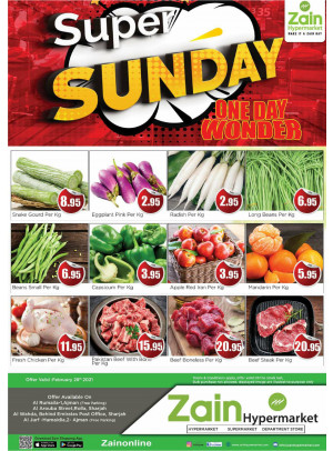 Super Sunday Deals