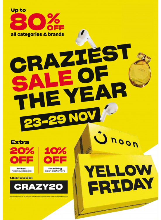 Yellow Friday Offers