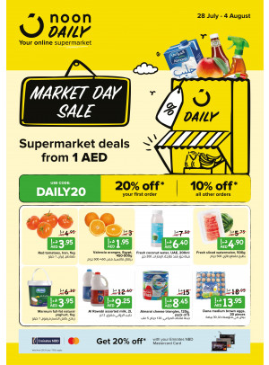 Market Day Sale