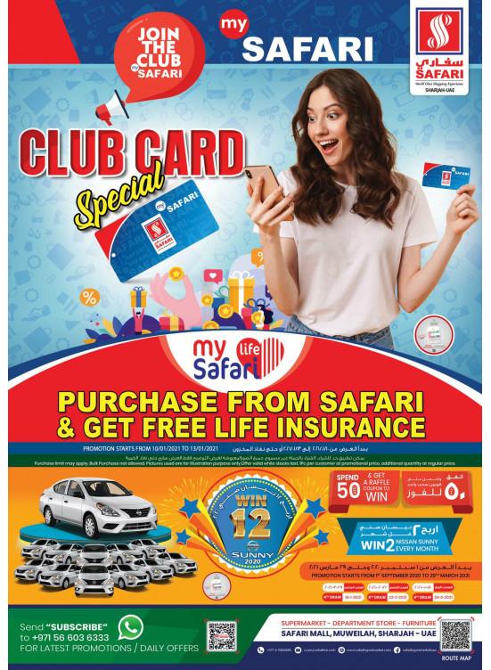 Safari Club Members Offers