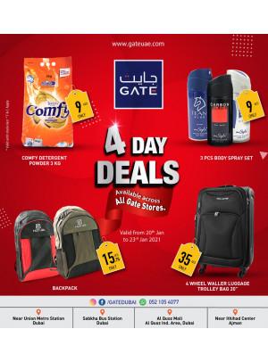 4 Day Deals