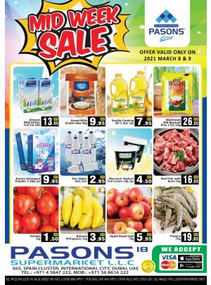 Midweek Sale - Pasons 18 Supermarket
