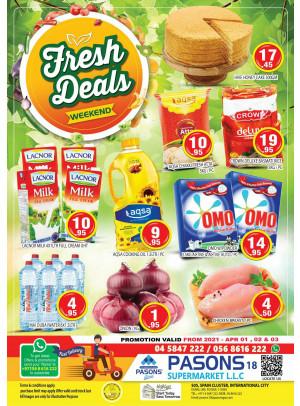 Fresh Deals - Pasons 18 Supermarket