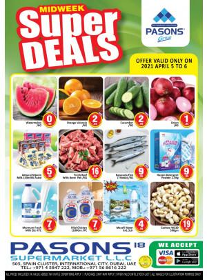 Midweek Super Deals - Pasons 18 Supermarket