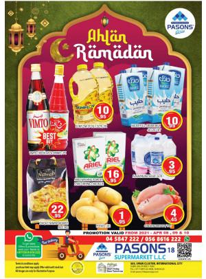 Weekend Super Deals - Pasons 18 Supermarket