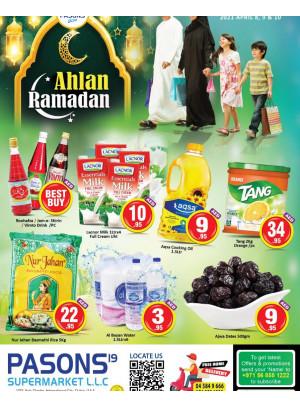 Weekend Deals - Pasons 19 Supermarket