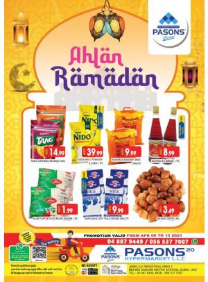 Ramadan 2021 Offers - Pasons 20 Supermarket