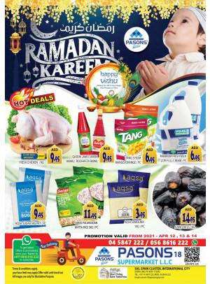 Ramadan 2021 Offers - Pasons 18 Supermarket